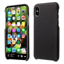 GCASE-NOBLEIPXNOIR - Coque iPhone X G-case Noble aspect cuir noir