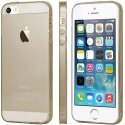 GCASESKINIP5GOLD - Coque GCase ultra fine Skin Gel coloris Gold translucide pour iPhone 5s