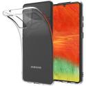 GEL-A41TRANS - Coque souple Galaxy-A41 en gel flexible et enveloppant transparent