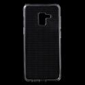 GEL-A8PLUSTRANS - Coque souple Galaxy A8 Plus 2018 gel TPU flexible transparent