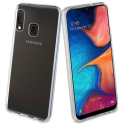 GEL-GALAXYA20E - Coque souple Galaxy-A20E en gel flexible et enveloppant transparent