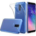 GEL-GALAXYA6PLUSTRANS - Coque souple Galaxy A6 Plus 2018 gel TPU flexible transparent