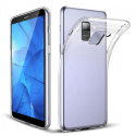 GEL-GALAXYJ6PLUSTRANS - Coque souple Galaxy J6+ gel TPU flexible transparent