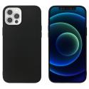 GEL-IP12PROMAXNOIR - Couple iPhone 12 pro Max souple flexible et ultra-fine coloris noir mat