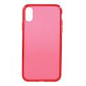 GEL-IPXRROUGE - Coque souple Galaxy iPhone XR rouge enveloppante et résistante