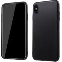 GEL-IPXSMAXNOIR - Coque souple Galaxy iPhone XS Max noire enveloppante et résistante