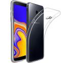 GEL-J4PLUSTRANS - Coque souple Galaxy J4+ gel TPU flexible transparent