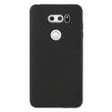 GEL-LGV30NOIR - Coque souple LG-V30 noir en gel flexible indéformable