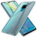 GEL-MATE20TRANS - Coque souple Mate-20 flexible et transparente