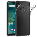 GEL-MIA2LITETRANS - Coque souple Xiaomi Mi A2 Lite en gel flexible transparent