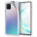 GEL-NOTE10LITETRANS - Coque Galaxy Note-10 Lite souple en gel transparent