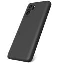 GEL-REDMINOTE104PRONOIR - Coque souple Redmi Note 10 Pro en gel flexible enveloppant noir mat