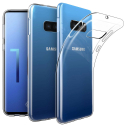 GEL-S10ETRANS - Coque souple Galaxy-S10e en gel flexible et enveloppant transparent