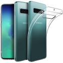 GEL-S10PLUSTRANS - Coque souple Galaxy-S10+ en gel flexible et enveloppant transparent