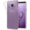 GEL-S9TRANS - Coque souple Galaxy-S9 en gel flexible et enveloppant transparent