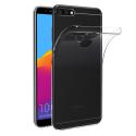 GELY72018TRANS - Coque souple Huawei Y7-2018 coloris noir