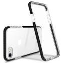GEMINI-IP78 - Coque antichoc iPhone 7/8/SE(2020) Gemini noire et transparente