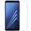 GLASS-A8PLUS2018 - Vitre protection écran Galaxy-A8 Plus 2018 en verre trempé 0.3mm