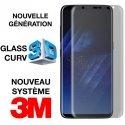 GLASS-S8PLUSULTIMATE - Protection écran Galaxy S8-Plus ULTIMATE verre trempé incurvé transparent