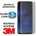 GLASS-S8ULTIMATE - Protection écran Galaxy S8 ULTIMATE verre trempé incurvé transparent