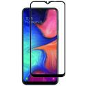GLASS3D-A20ENOIR - Verre protection écran 3D intégral Galaxy A20e contour noir