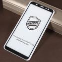 GLASS3D-A6PLUSNOIR - Verre protection écran intégral Galaxy A6-Plus avec contour noir
