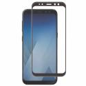 GLASS3D-A82018NOIR - Verre protection écran intégral Galaxy A8-2018 avec contour noir