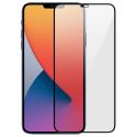 GLASS3D-IP12PMAX - Film protecteur écran intégral 3D en verre trempé iPhone 12 pro Max contour noir