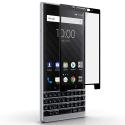 GLASS3D-KEY2NOIR - Verre trempé intégral 3D pour Blackberry Key-2 contour noir
