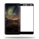GLASS3D-NOKIA6-1 - protection écran intégrale verre trempé Nokia 6.1 avec contour noir