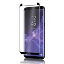 GLASS3D-S9PLUSNOIR - Protection écran Galaxy S9+ en verre trempé incurvé contour noir
