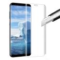GLASS3D-S9PLUSTRANS - Protection écran Galaxy S9 Plus en verre trempé incurvé transparent