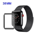 GLASS3D-WATCH38MM - Protection écran verre trempé 3D avec contour noir Apple Watch 38mm