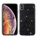 GLITTER-IPXSMAXNOIR - Coque iPhone XS-Max avec paillettes coloris noir