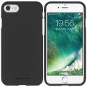 GOOSP-IP6SOFTNOIR - Coque souple iPhone 6s en gel TPU noir mat Soft-Jelly de Goospery