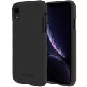 GOOSP-IPXRSOFTYNOIR - Coque souple iPhone XR en gel TPU noir mat Soft-Jelly de Goospery
