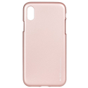 GOOSP-JELLYIPXROSE - Coque souple iPhone X/Xs gel TPU rose iJelly de Goospery