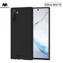 GOOSP-SOFTNOTE10 - Coque souple Galaxy Note 10 en gel TPU noir mat de Goospery