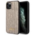 GUHCN65PCUMLLIGO - Coque Guess série Lizard Cover gold iPhone 11 Pro Max