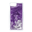 GUHCP7GLUTPU - Coque iPhone 6/7/8 Guess série paillettes coloris violet