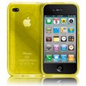 GELLI-IPHONE4-JAU - Housse Case-Mate Gelli jaune pour Apple iPhone 4