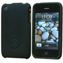 HGOMDOCK-IPH3G - Coque Dock toucher Gomme pour iPhone 3G 3Gs