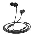 HOCO-M60 - Ecouteurs Hoco intra-auriculaires jack 3,5mm coloris noir