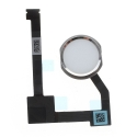 HOME-IPADAIR2SILVER - Nappe bouton Home iPad Air-2 coloris blanc et gris