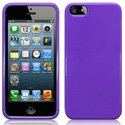 HSOFTYGLOSVIOL-IP5 - Housse Softygel violet glossy iPhone 5