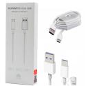 HUAWEI-AP71 - Câble Huawei AP-71 USB Type-C Ultra rapide FastCharge 5A rapide blanc
