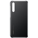 HUAWEI-CASE20NOIR - Coque origine Huawei P20 rigide coloris noir