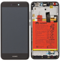 HUAWEI-FACEP8LITE17NO - Ecran complet origine Huawei P8 Lite 2017 Vitre + Ecran LCD + chassis avec batterie