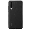 HUAWEI-PUCASEP30 - Coque origine Huawei P30 coloris noir texturée