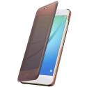 HUAWEI-VIEWNOVAMARRON - Folio Huawei avec rabat translucide pour Huawei Nova coloris marron